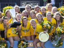 Hockeysters Den Bosch opnieuw de beste van Nederland