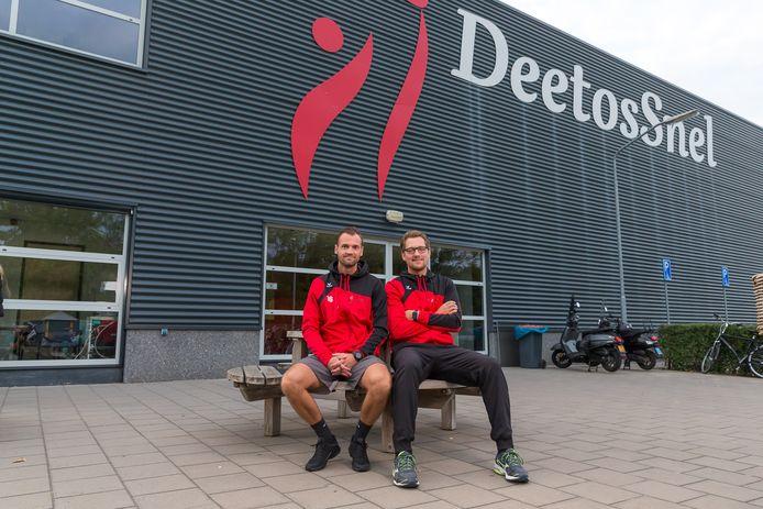 Niels Mastijn (links) en Patrick Muurling zijn niet langer de trainers van DeetosSnel.