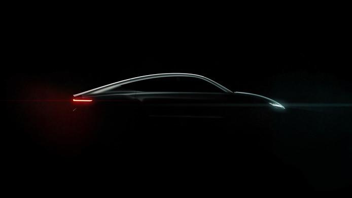 'We hebben behoefte aan jonge dwarsdenkers ... om de hele auto-industrie mee te nemen naar een nieuwe realiteit.' Op de foto de Lightyear One, een gezinsauto, ontwikkeld in Helmond, aangedreven door zonne-energie.