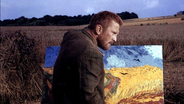 Kirk Douglas als Vincent van Gogh in Lust for Life Beeld .