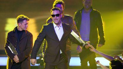 Robbie Williams houdt Take That-reünie voor virtueel optreden