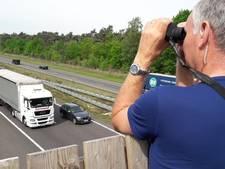 40 jaknikkers en snelheidsduivels bekeurd op A67 bij Hapert