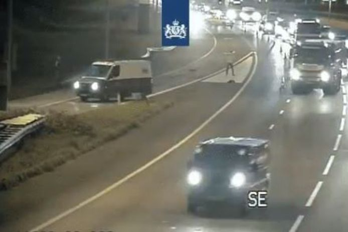 Videostill van Rijkswaterstaat Verkeersinformatie.