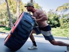 Chris Hemsworth exhibe son impressionnante musculature avant le tournage de Thor 4