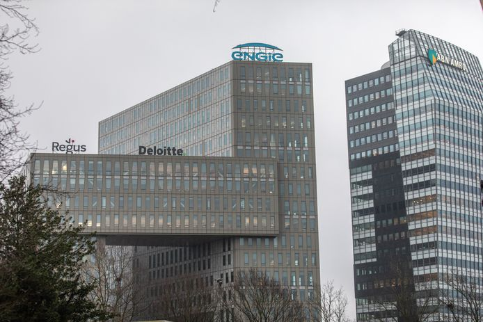 Het kantoor van energiebedrijf Engie in Zwolle. De vrouw bij wie het coronavirus is vastgesteld werkt bij Engie op een afdeling waar nog zeker twintig mensen werken. Die doen voorlopig hun werk vanuit huis.