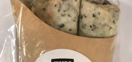 Veghelse supermarktketen Jumbo roept spinaziewrap met tonijnsalade terug