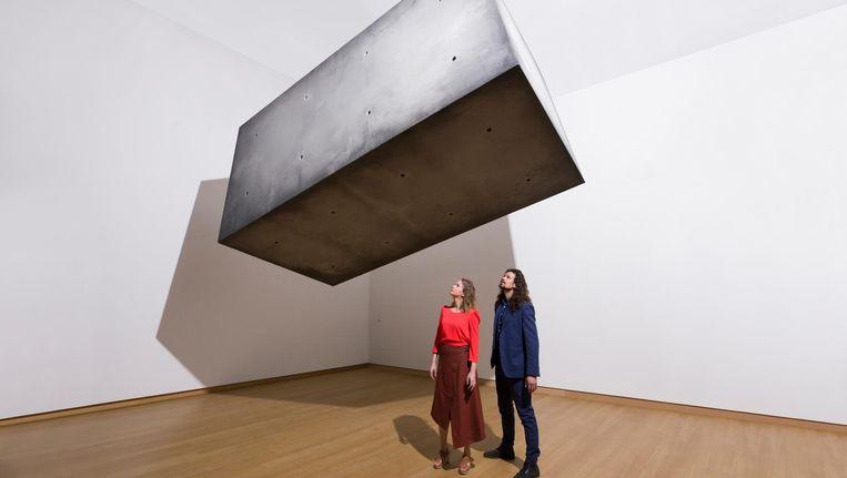 'Mensen vragen altijd hoe Drifter werkt, maar het gaat om de verbazing.' Beeld Tom Cornelissen/ Stedelijk Museum