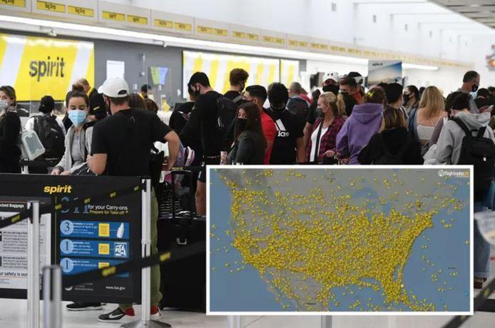 Les autorités de l'aviation ont contrôlé plus de 3 millions de passagers aériens le week-end dernier.