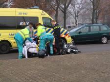 Motorrijder gewond bij botsing met auto in Tilburg