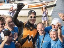 Zwemtocht geen lijdensweg voor Van der Weijden: maar ga het niet nog een keer doen