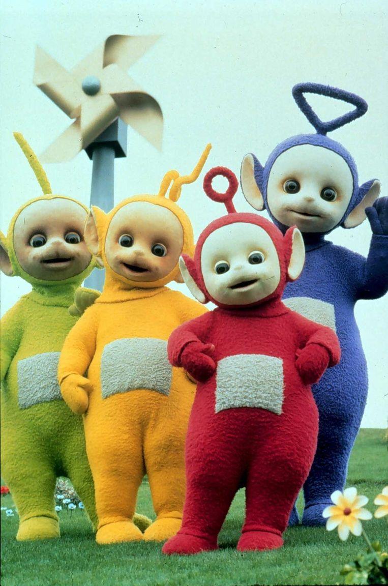 De Teletubbies: Dipsy, Laa Laa, Po en Tinky Winky. Beeld anp