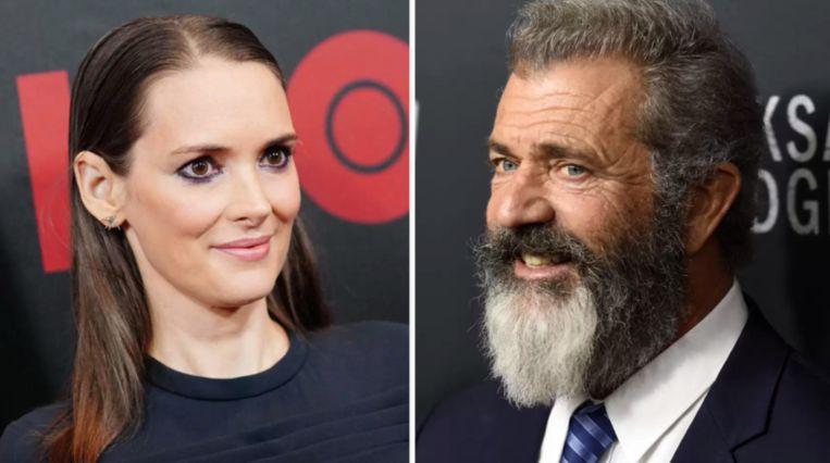 Winona Ryder haalt uit naar Mel Gibson.