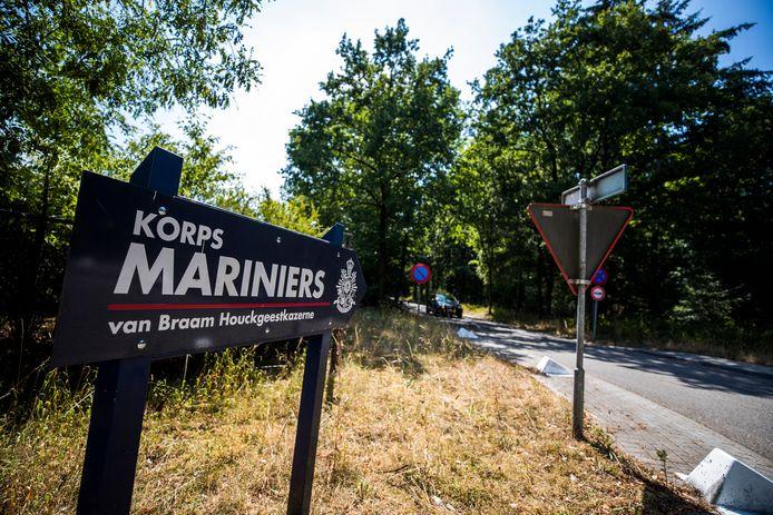 De marinierskazerne in Doorn.