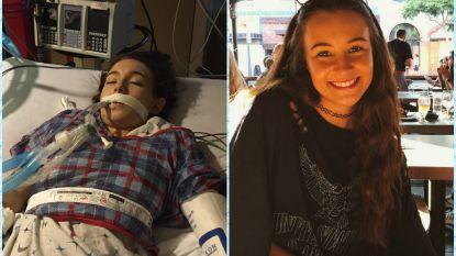 """""""Links zie je me op intensieve na overdosis, rechts zoals ik nu ben"""": Emma (23) vertelt schokkende verhaal achter haar virale foto"""