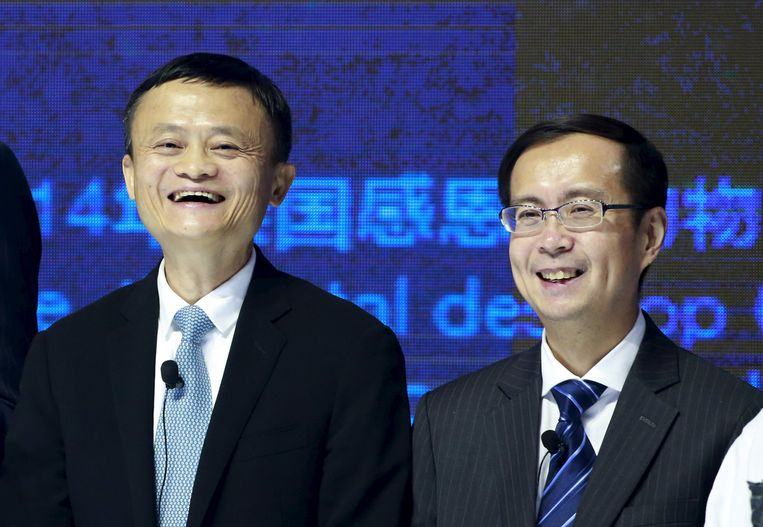 Jack Ma en Daniel Zhang.