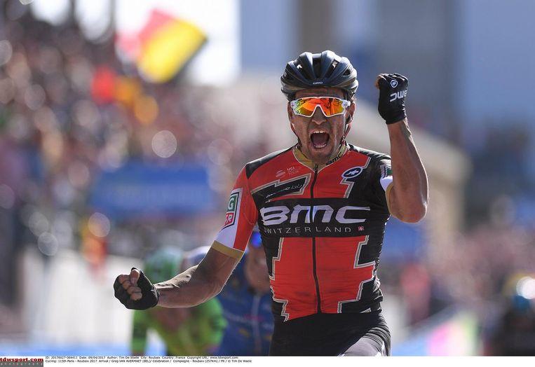 Van Avermaet won op knappe wijze Parijs-Roubaix.