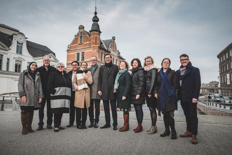 Het nieuwe stadsbestuur van Gent