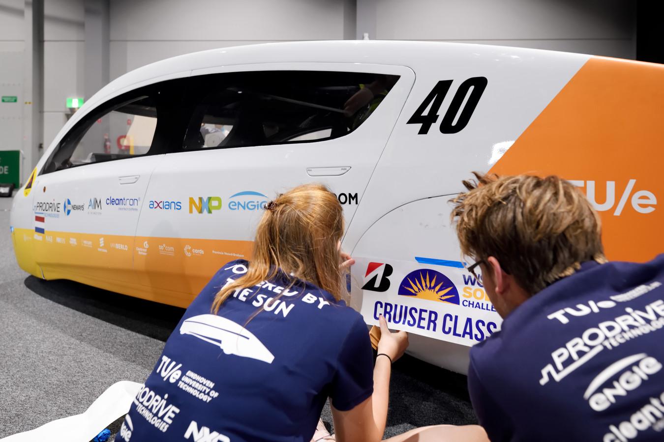Stella Era, de nieuwe gezinsauto op zonne-energie van Solar Team Eindhoven, een multidisciplinair studententeam van de Technische Universiteit Eindhoven.