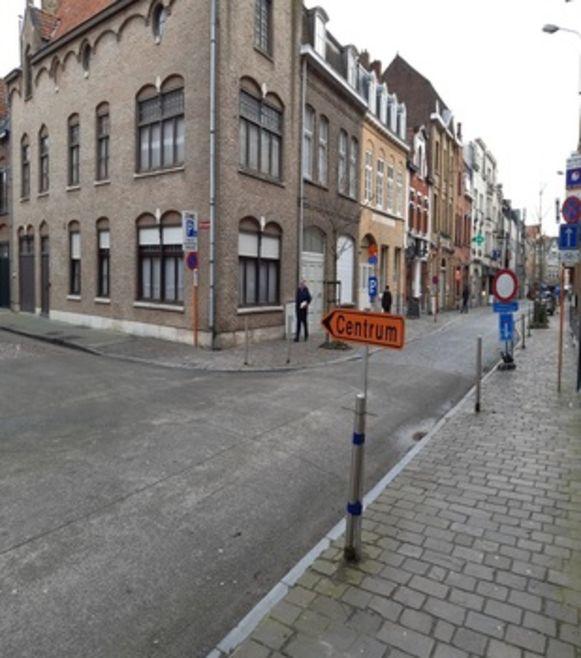 Er zijn momenteel werken bezig op het kruispunt van de Tempelstraat met de Stationsstraat.