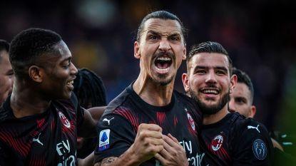 Eerste basisplek en meteen trefzeker: sterke Ibrahimovic leidt AC Milan naar zege tegen Nainggolan en co