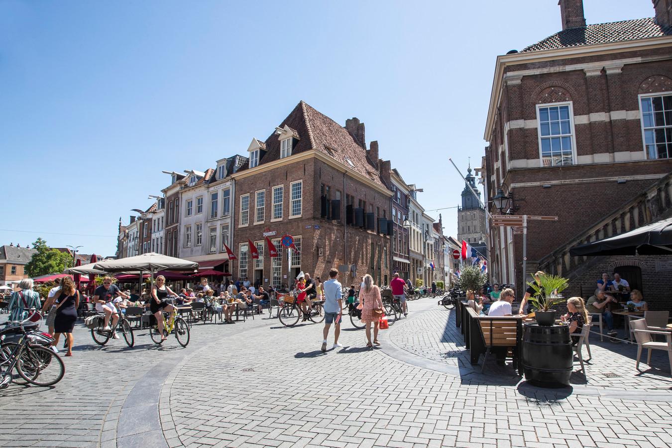 De Zutphense binnenstad.