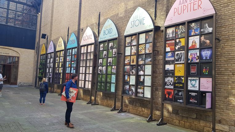 Het Voorlopig Bewind, de jongerenwerking van het museum, maakte een apart luik in de tentoonstelling.