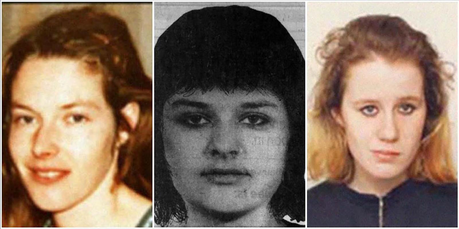 Vlnr: Mientje van Balkom, Maria Hofland en Maria Christine Jonas. Justitie heeft bewijs