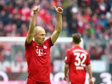 Robben maakt rentree bij winnend Bayern, vreemde invalbeurt Jonathas