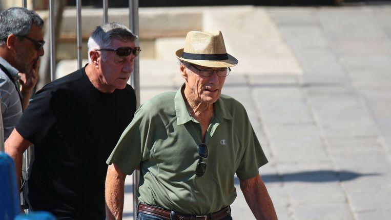 Clint Eastwood filmde naast Parijs en Amsterdam ook al in Venetië (foto) voor 'The 15:17 to Paris'.