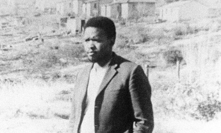 Steve Biko, Zuid-Afrikaans burgerrechtenactivist. Beeld getty