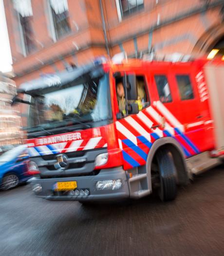 Schoorsteenbrand in Oude-Tonge