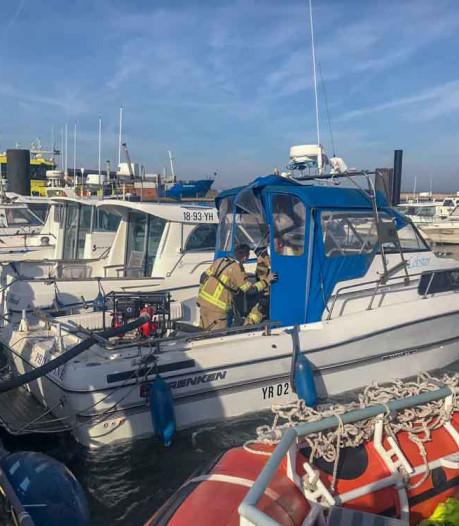 Sportvisboot in Breskens gered