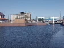 Het nieuwe aanzicht van de haven in Harderwijk