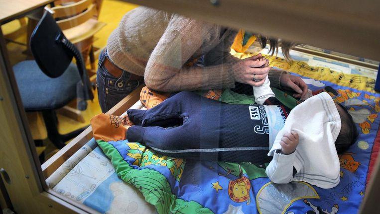 Een speelzaal in een opvangcentrum voor vrouwen en hun kinderen. Beeld Marcel van den Bergh