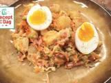 Lauwwarme aardappelsalade