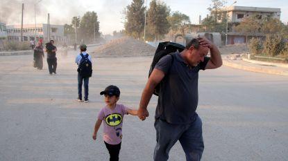 """Verenigde Naties: """"Tienduizenden burgers op de vlucht voor Turks offensief"""""""