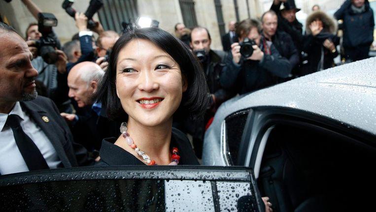 De voormalige Franse minister Fleur Pellerin Beeld anp