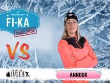 Clash tussen oud-schaatsers Annouk en Linda in Zweden