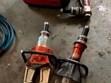 Gestolen brandweergereedschap met waarde van minstens 25.000 euro gevonden, 20-jarige verdachte aangehouden