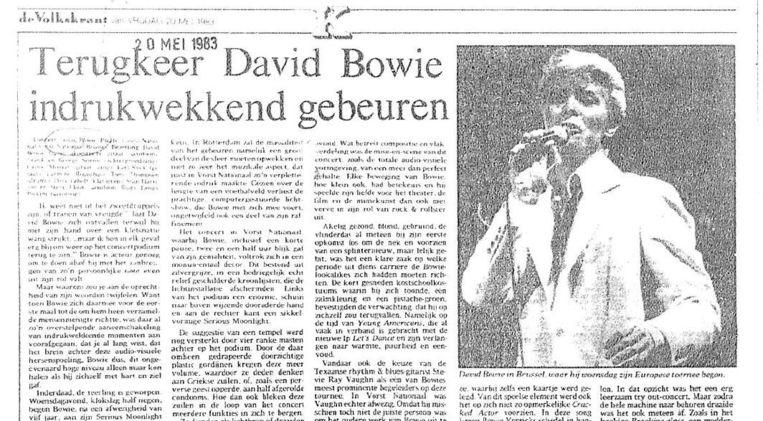 Het origineel van dit artikel uit 1983. Beeld null