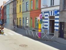 'Superflitspaal' van de Gentse Flikken staat langs de Ottergemsesteenweg