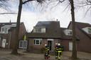 Uitslaande schoorsteenbrand in Kaatsheuvel.