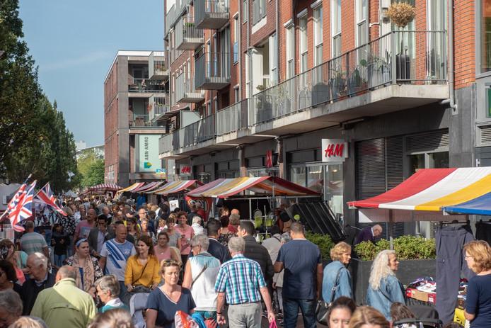 De jaarmarkt van 2018 in Alphen