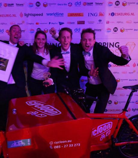 Fietskoeriers.nl uit Zwolle wint landelijke innovatieprijs