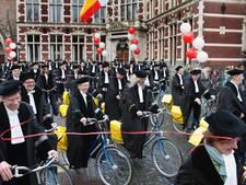 Utrechtse hoogleraren op de fiets naar basisscholen