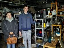 Heezer kringloopwinkel na de brand: Ik dacht,'Daar gaat onze toekomst'
