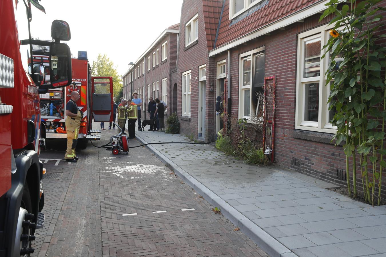 Brand in de Henriëttestraat in Eindhoven.