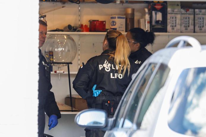 Drugslab aangetroffen in Veldhoven