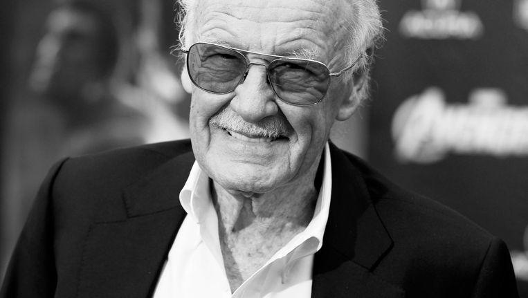 Stan Lee, echte naam Stanley Lieber, in 2012 bij de première van The Avengers in Hollywood Beeld Reuters