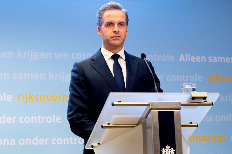 Minister Hugo de Jonge. Beeld null